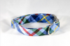Classic Blue and Green Flannel Plaid Dog Collar