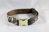 The Sporting Pup Camo Girl Dog Flower Bow Tie Collar--Classic