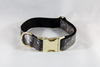 The Sporting Pup Camo Dog Collar--Classic Black