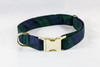 Watch Plaid Dog Collar