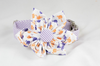 Purple and Orange Clemson Tigers Palmetto Palm Tree Seersucker Game Day Girl Dog Flower Bow Tie Collar