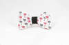Gamecocks Garnet and Black Palmetto Palm Tree Game Day Dog Bow Tie