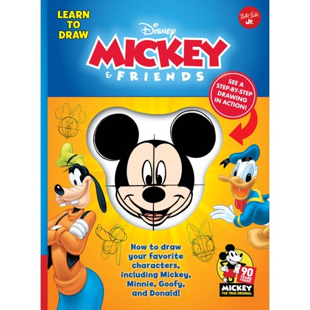 LEARN TO DRAW MICKEY & FRIENDS