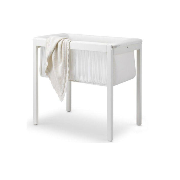 STOKKE HOME CRADLE WITH MATTRESS - WHITE