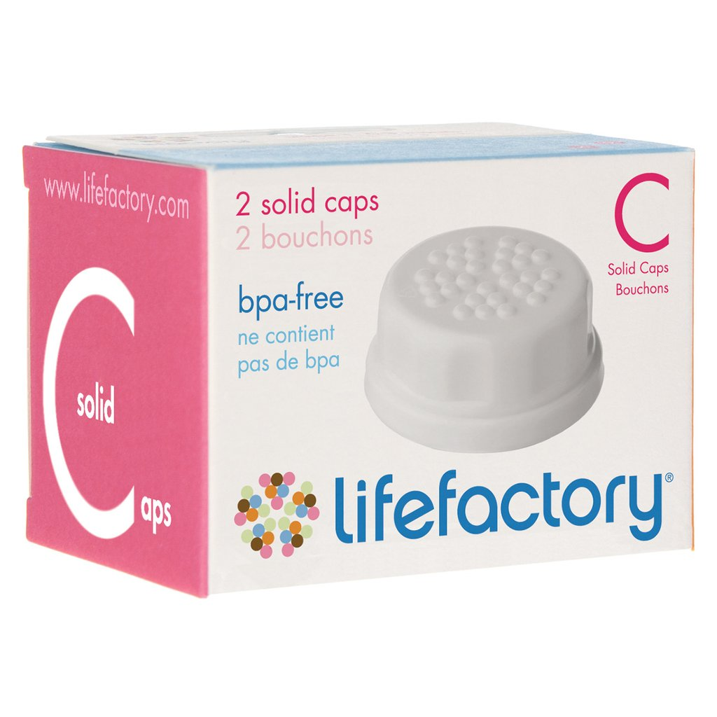 LIFEFACTORY FLAT CAPS - 2PACK