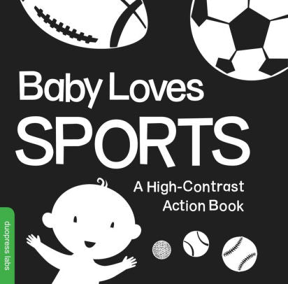 BABY LOVES SPORTS: A HIGH CONTRAST BOARD BOOK