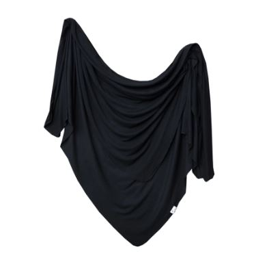 COPPER PEARL KNIT SWADDLE - MIDNIGHT