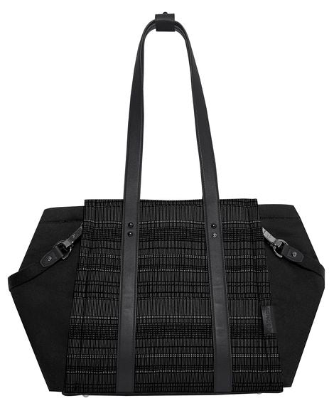 SKIP HOP HIGHLINE DIAPER TOTE - BLACK