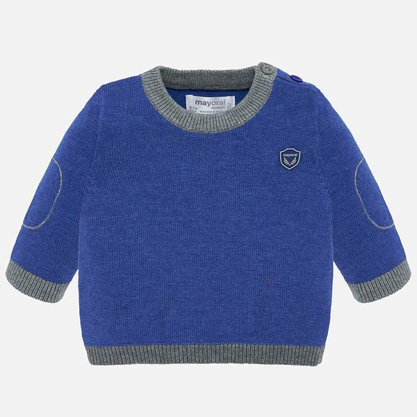MAYORAL KNIT SWEATER FOR BABY BOY BLUE