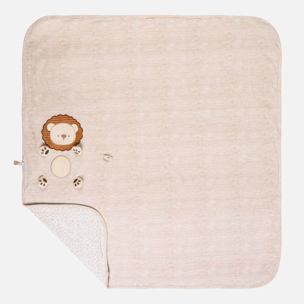 MAYORAL LION BABY JERSEY BLANKET