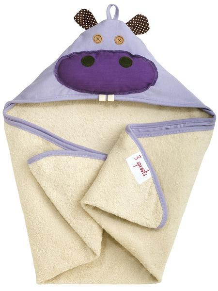 3 SPROUTS - HOODED TOWEL
