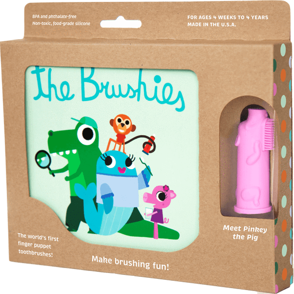 BRUSHIES BOOK W/PINKEY BRUSHIE