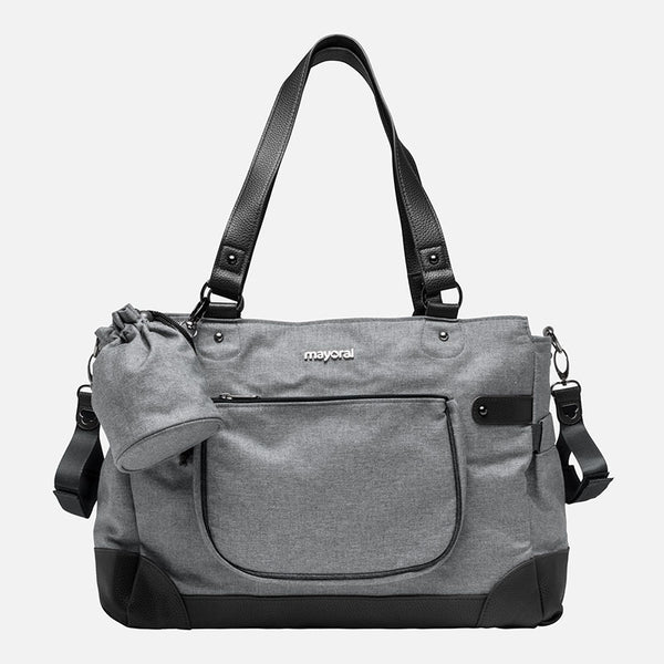 MAYORAL CHANGING BAG WITH ACCESSORIES CHARCOAL