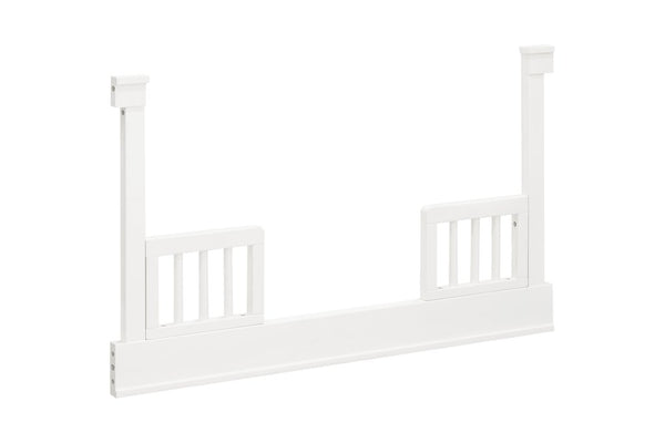 MILLION DOLLAR BABY CLASSIC TANNER TODDLER BED CONVERSION KIT IN WARM WHITE