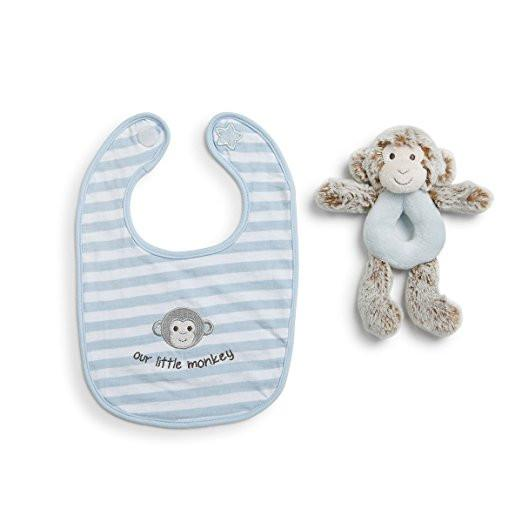 LB BLUE MARCELL MONKEY RATTLE