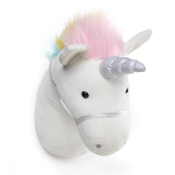 GUND - UNICORN HEAD DECOR