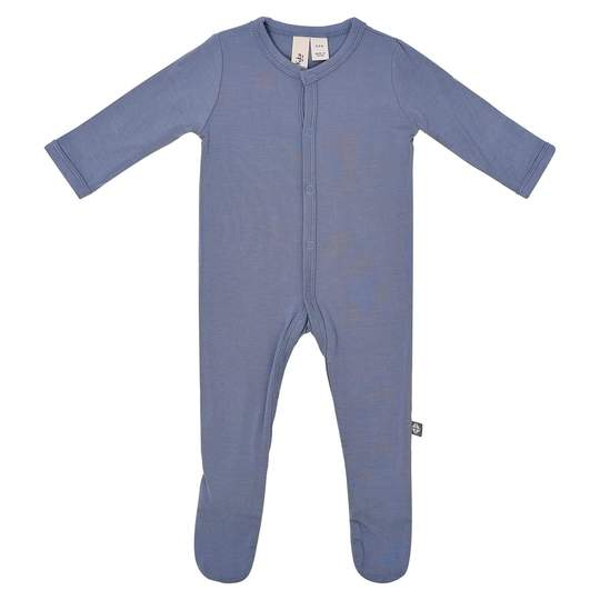 KYTE BABY FOOTIE IN SLATE - NEWBORN