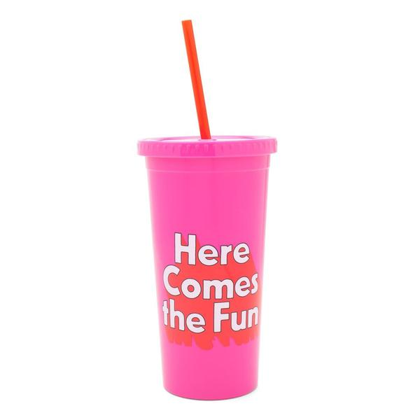 SIP SIP TUMBLER HERE COMES THE FUN