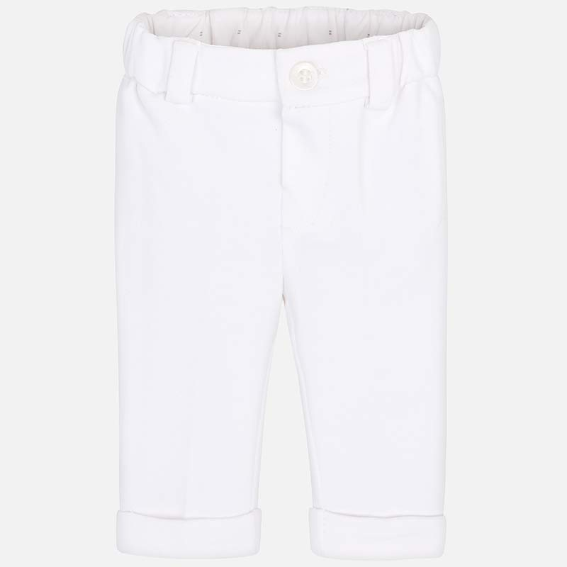 FORMAL TROUSER - WHITE