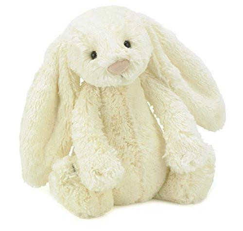 BASHFUL BUNNY CREAM MEDIUM 12""