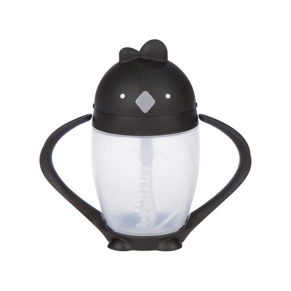 LOLLACUP STRAW SIPPY CUP - CHIC BLACK