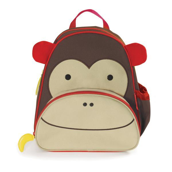 SKIP HOP ZOO LITTLE KID BACKPACK - MARSHALL MONKEY