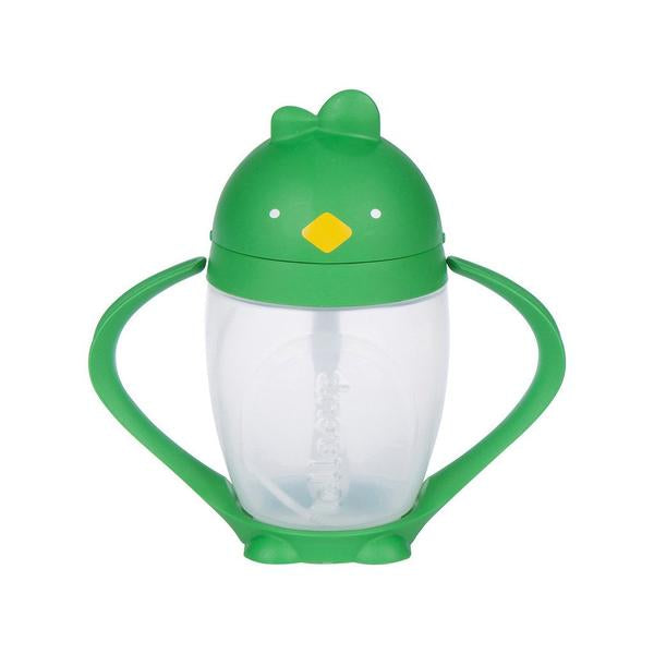 LOLLACUP STRAW SIPPY CUP - GOOD GREEN