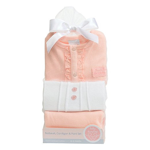 HEAVEN SENT NEWBORN CARDIGAN & PANT GIFT SET