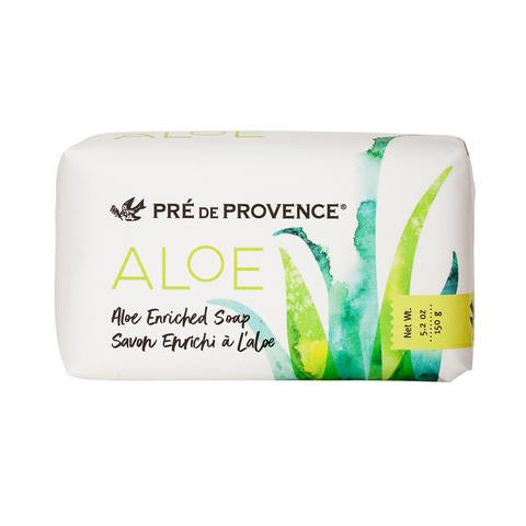 EUROPEAN SOAPS ALOE ENRICHED SOAP BAR