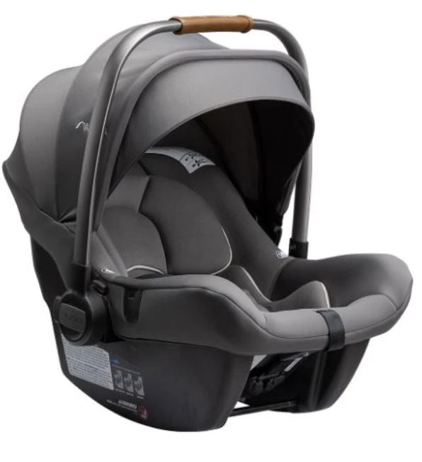 NUNA PIPA LITE R INFANT CAR SEAT WITH BASE - GRANITE