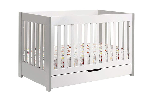 BABYLETTO - MERCER 3-IN-1 CONVERTIBLE CRIB WITH TODDLER BED CONVERSION