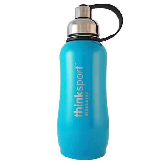 THINKBABY INSULATED SPORTS BOTTLE 25OZ LIGHT BLUE