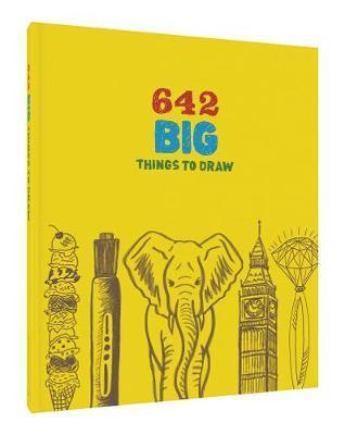 BOOK- 642 BIG THINGS TO DRAW