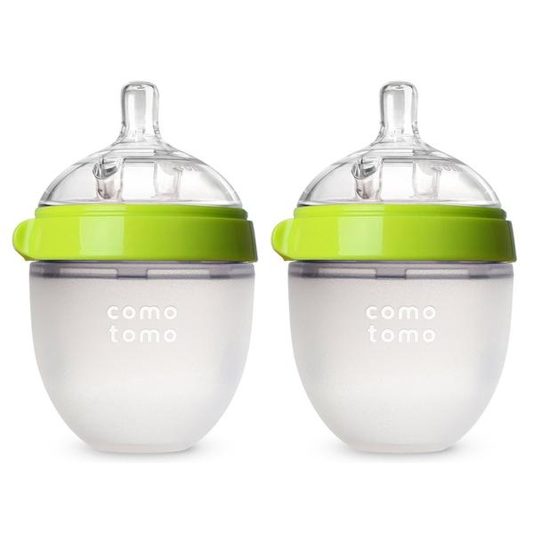 BABY BOTTLE 5OZ GREEN DBL PACK