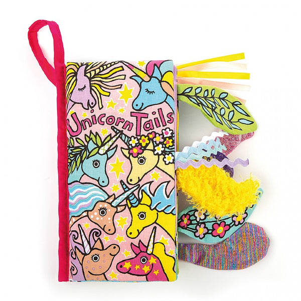 UNICORN TAILS SOFT BOOK - JELLY CAT