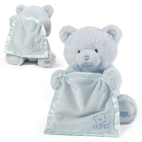 GUND PEEK-A-BOO MY 1ST TEDDY - BLUE
