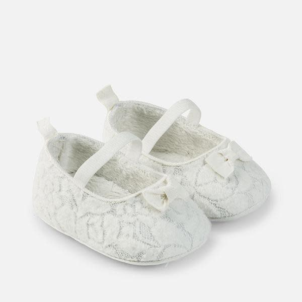 MAYORAL BABY GIRL MARY JANE SHOES WITH LACE