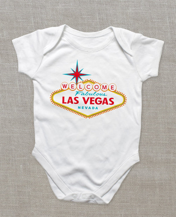 LAS VEGAS SIGN ONESIE