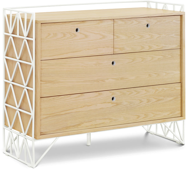 UBABUB MOD DRESSER IN WARM WHITE AND NATURAL