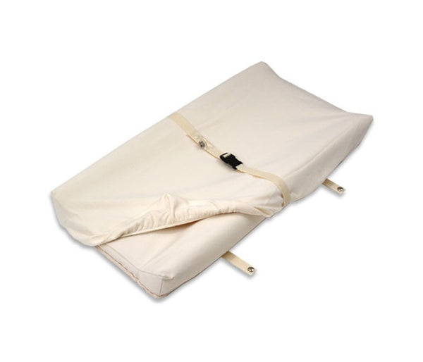NATUREPEDIC ORGANIC COTTON CHANGING PAD COVER 2-SIDED