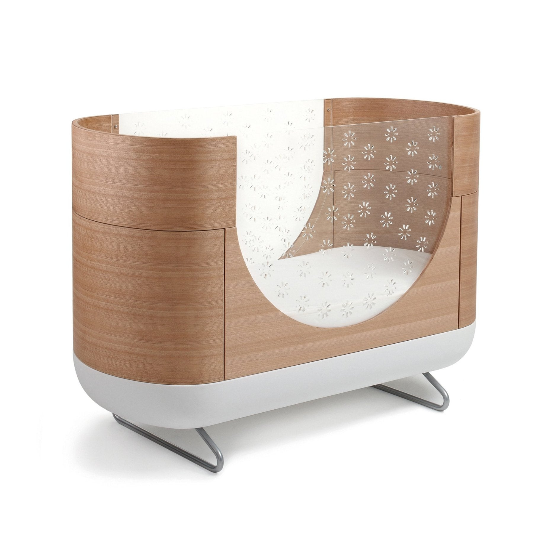 Ubabub Toddler Bed Conversion Kit for Nifty Walnut