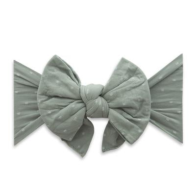 BABY BLING DANG ENORMOUS BOW : SAGE DOT