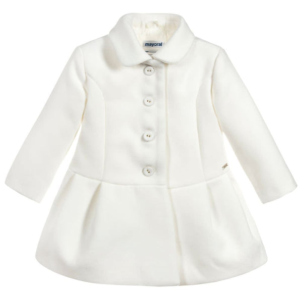 MAYORAL COAT IVORY