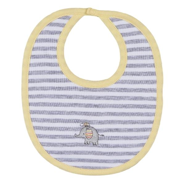KISSY KISSY JUNGLE JAMBOREE STRIPED BIB