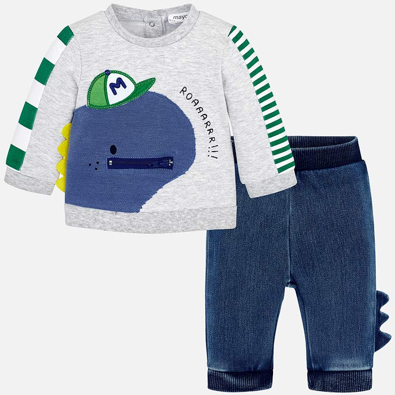 online for sale footwear biggest discount MAYORAL DINOSAUR TRACKSUIT – Buttercup Baby Co.