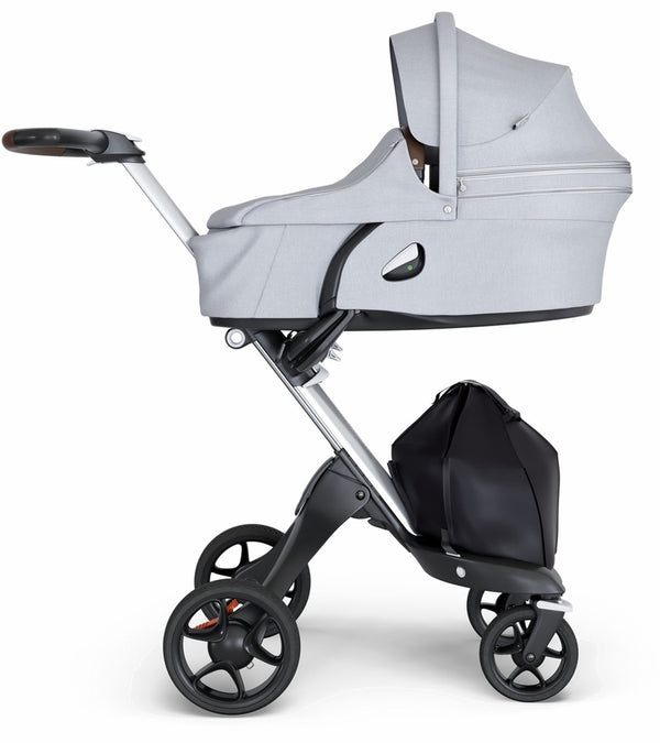 STOKKE XPLORY V6 CARRY COT - GREY MELANGE