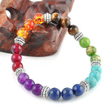 FREE 7 Chakra Bracelet with Mixed Healing Crystals (Just pay shipping)