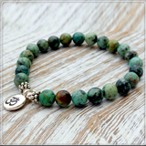 Genuine African Turquoise Bracelet
