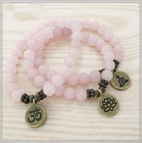 Rose Quartz Energy Bracelet