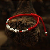 925 Sterling Silver Ancient Coins Handmade Shamballa Bracelet
